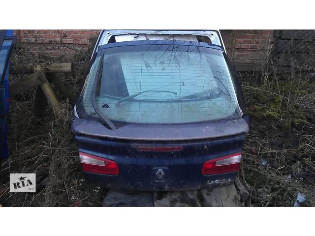продам Б/у крышка багажника для хэтчбека Renault Laguna II бу в Львове