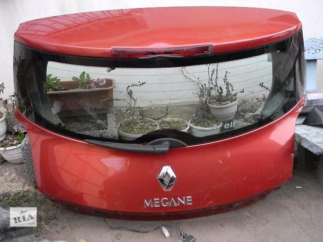 бу Б/у крышка багажника  для хэтчбека Renault Megane 2002,2003,2004,2005,2006 в Одессе