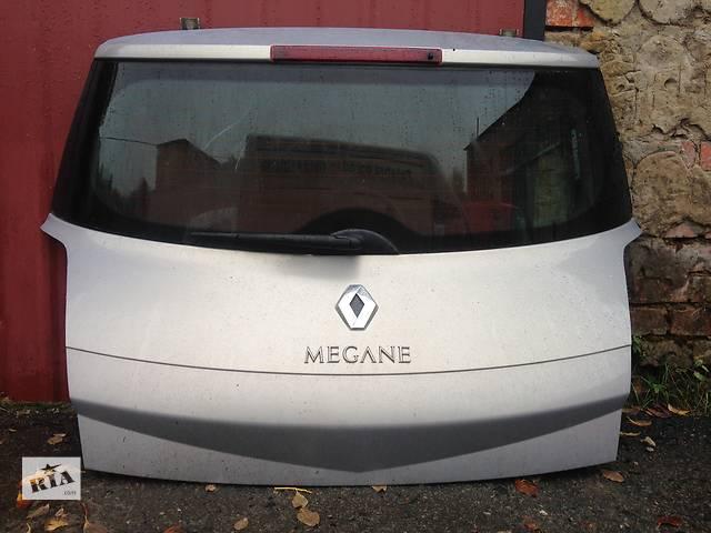 Б/у кришка багажника для хетчбека Renault Megane II- объявление о продаже  в Луцке