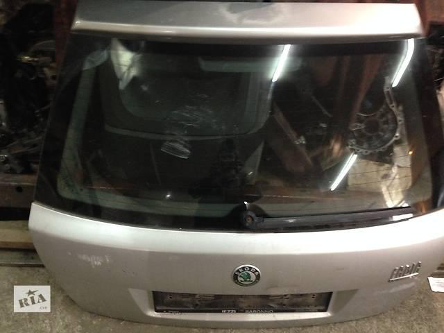 продам Б/у крышка багажника для хэтчбека Skoda Fabia бу в Виннице