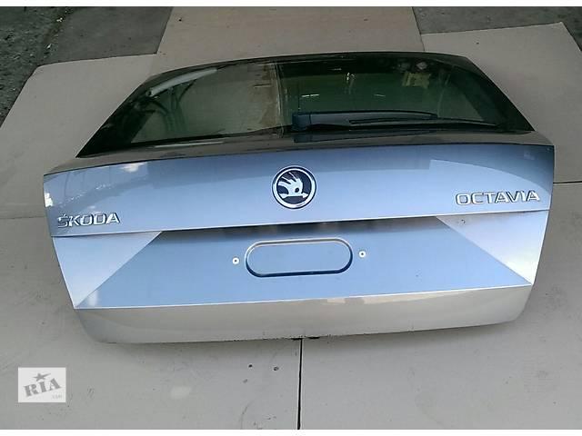 бу Б/у крышка багажника для хэтчбека Skoda Octavia A7 в Пустомытах (Львовской обл.)