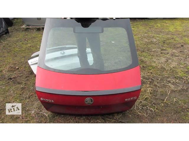 продам Б/у крышка багажника для хэтчбека Skoda Rapid бу в Львове