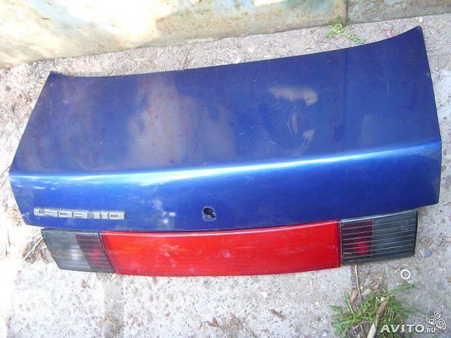 купить бу Б/у крышка багажника для хэтчбека ВАЗ 2110 в Кривом Роге (Днепропетровской обл.)