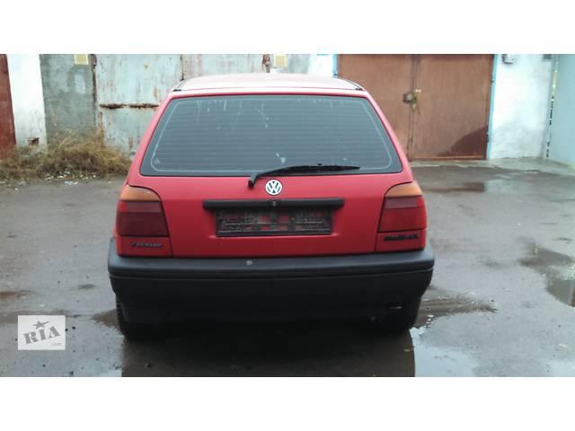 Б/у крышка багажника для хэтчбека Volkswagen Golf III- объявление о продаже  в Ровно