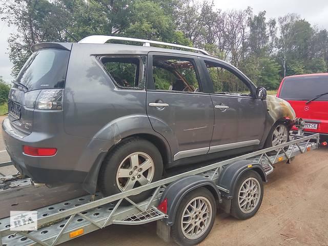 продам Б/у крышка багажника для кроссовера Mitsubishi Outlander XL бу в Киеве
