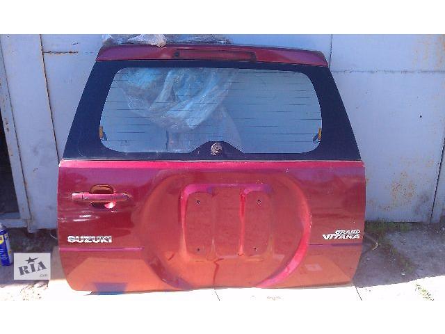 продам Б/у крышка багажника для кроссовера Suzuki Grand Vitara 2007 бу в Киеве