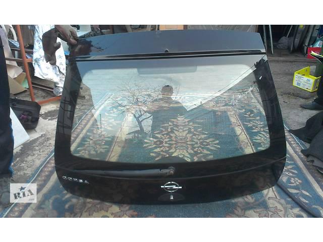 продам Б/у крышка багажника для купе Opel Corsa 3d бу в Ковеле