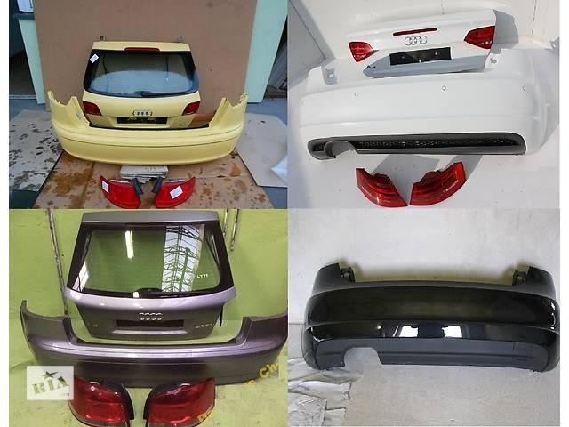 продам Б/у крышка багажника для легкового авто Audi A3 8p 03-12 бу в Львове