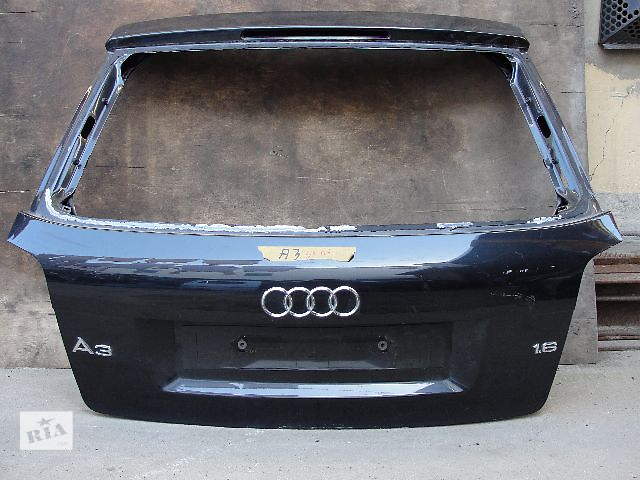 Б/у крышка багажника для легкового авто Audi A3 ДЕШЕВО В НАЛИЧИИ!!!- объявление о продаже  в Львове
