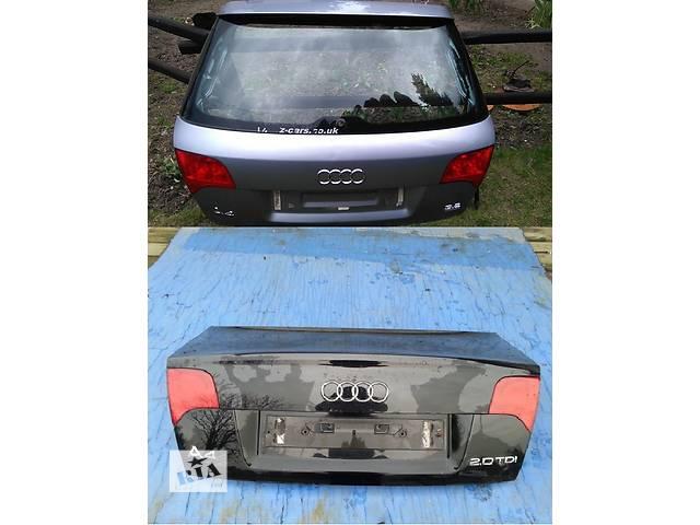 продам Б/у крышка багажника для легкового авто Audi A4 B7 04-08 бу в Львове
