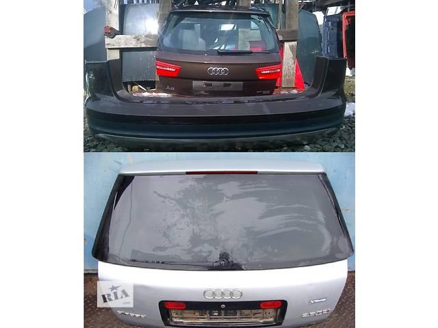 бу Б/у крышка багажника для легкового авто Audi A6 Allroad в Львове