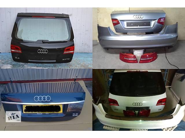 купить бу Б/у крышка багажника для легкового авто Audi A6 C6 04-11 в Львове