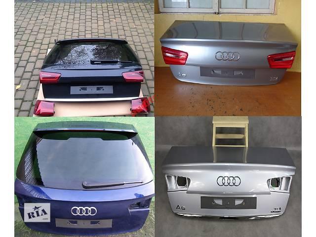 купить бу Б/у крышка багажника для легкового авто Audi A6 C7 11- в Львове