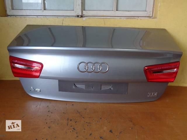 продам Б/у крышка багажника для легкового авто Audi A6 бу в Чернигове