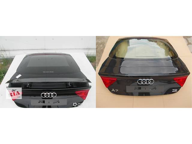 купить бу Б/у крышка багажника для легкового авто Audi A7 в Львове