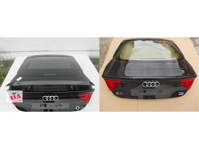 продам Б/у крышка багажника для легкового авто Audi A7 бу в Львове