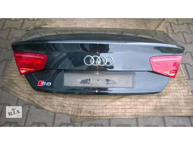 Б/у крышка багажника для легкового авто Audi A8 d4- объявление о продаже  в Львове
