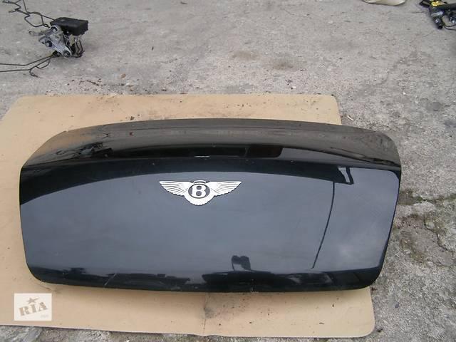Б/у крышка багажника для легкового авто Bentley Continental- объявление о продаже  в Львове