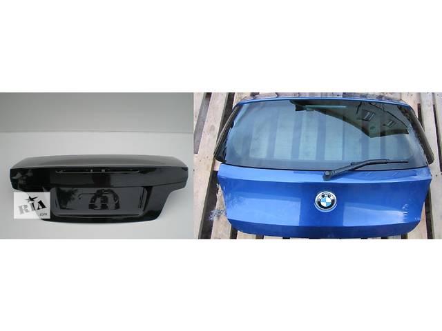 продам Б/у крышка багажника для легкового авто BMW 1 Series e87 e88 e81 e82 бу в Львове