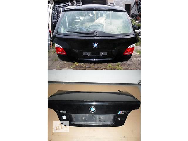 купить бу Б/у крышка багажника для легкового авто BMW 5 Series E60 E61 в Львове