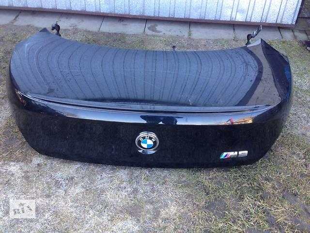 продам Б/у крышка багажника для легкового авто BMW 6 Series e63 e64 бу в Львове