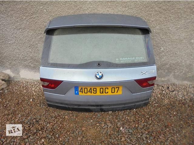 продам Б/у крышка багажника для легкового авто BMW X3 e83 бу в Львове
