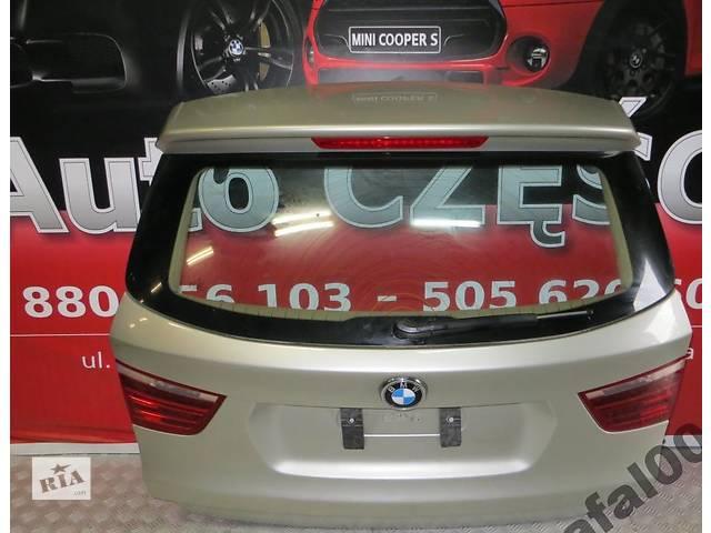 бу Б/у крышка багажника для легкового авто BMW X3 f25 в Львове
