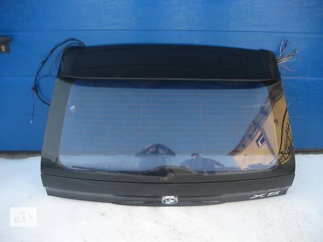 продам Б/у крышка багажника для легкового авто BMW X5 e53 бу в Львове
