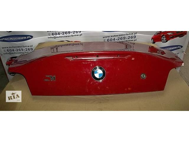 продам Б/у крышка багажника для легкового авто BMW Z4 e85 e86 e89 бу в Львове