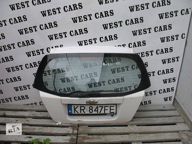 бу Б/у крышка багажника для легкового авто Chevrolet Aveo Hatchback (5d) 2005 в Луцке
