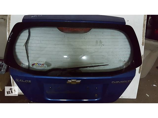 купить бу Б/у крышка багажника для легкового авто Chevrolet Aveo в Ровно