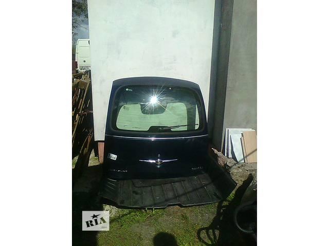 купить бу Б/у крышка багажника для легкового авто Chrysler PT Cruiser в Ковеле