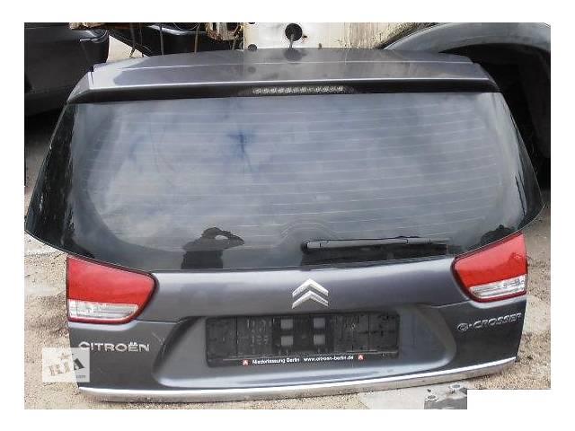 бу Б/у крышка багажника для легкового авто Citroen C-Crosser в Львове