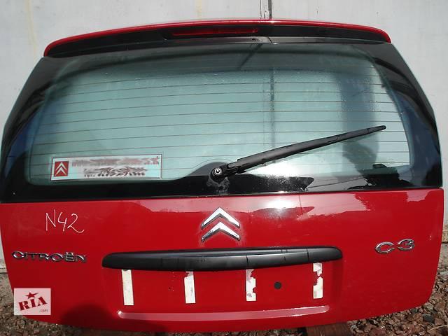 бу Б/у крышка багажника для легкового авто Citroen C3 в Киеве