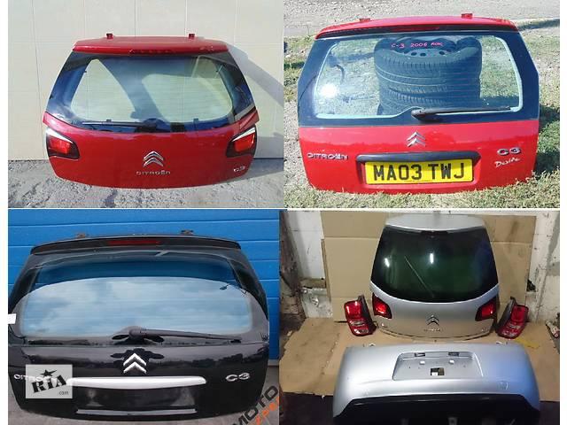продам Б/у крышка багажника для легкового авто Citroen C3 бу в Львове