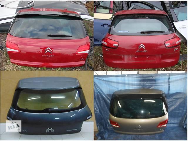 продам Б/у крышка багажника для легкового авто Citroen C4 бу в Львове