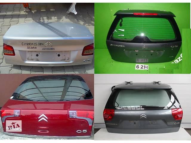 купить бу Б/у крышка багажника для легкового авто Citroen C5 в Львове