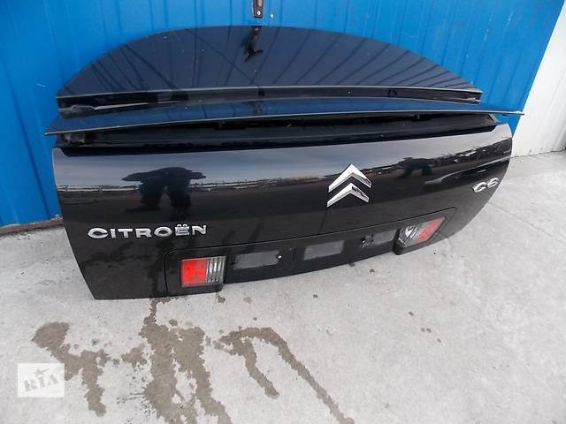 продам Б/у крышка багажника для легкового авто Citroen C6 бу в Львове