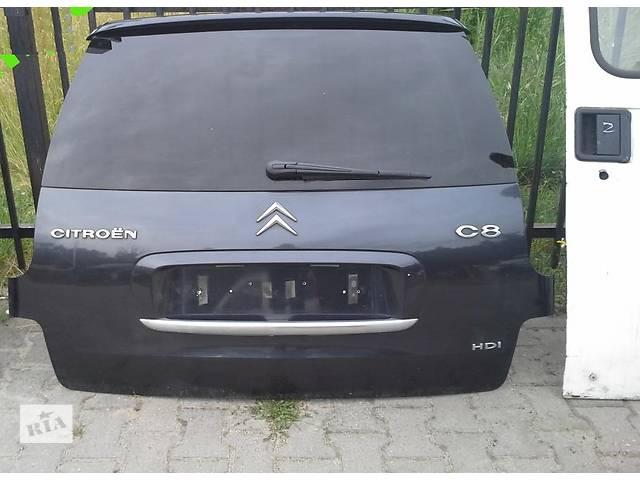 Б/у крышка багажника для легкового авто Citroen C8- объявление о продаже  в Львове