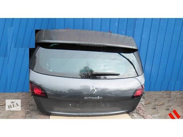 продам Б/у крышка багажника для легкового авто Citroen DS4 бу в Львове