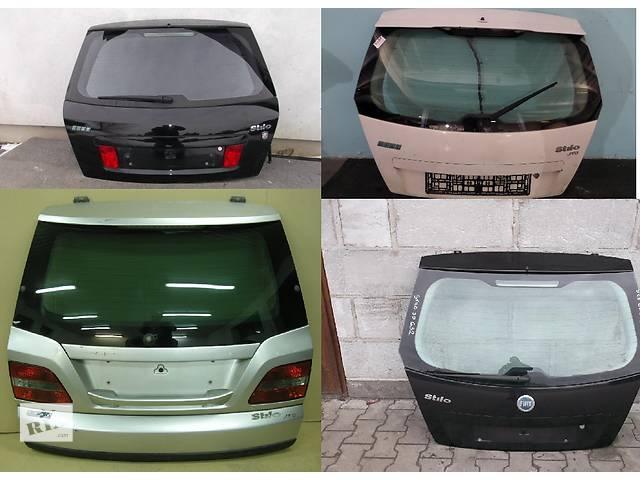 Б/у крышка багажника для легкового авто Fiat Stilo- объявление о продаже  в Львове