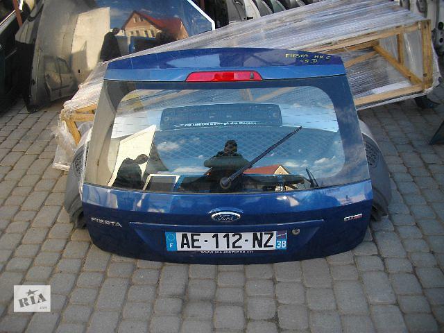 Б/у крышка багажника для легкового авто Ford Fiesta 2007- объявление о продаже  в Львове