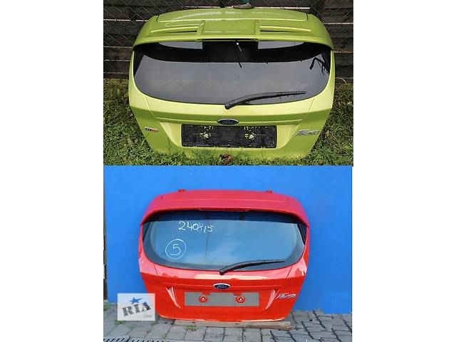 бу Б/у крышка багажника для легкового авто Ford Fiesta mk7 в Львове