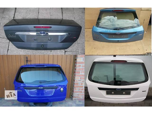 продам Б/у крышка багажника для легкового авто Ford Focus mk1 бу в Львове