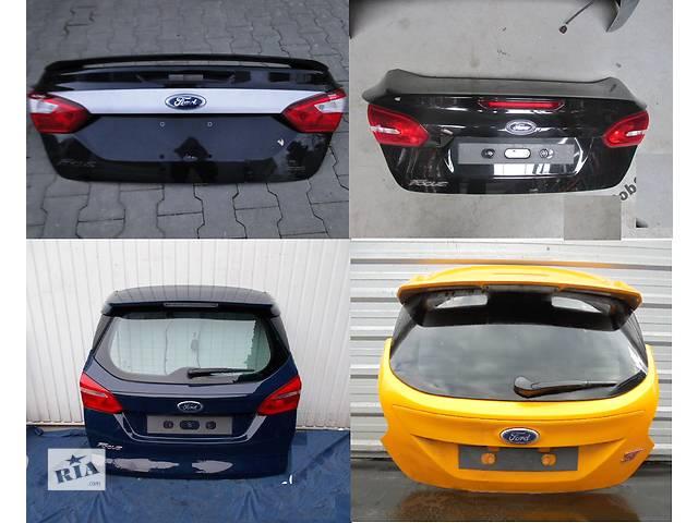 продам Б/у крышка багажника для легкового авто Ford Focus mk3 бу в Львове