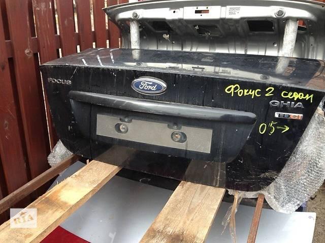 бу Б/у крышка багажника для легкового авто Ford Focus в Киеве