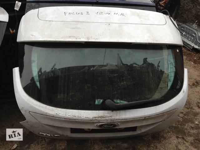 продам Б/у крышка багажника для легкового авто Ford Focus бу в Киеве