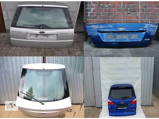 продам Б/у крышка багажника для легкового авто Ford Mondeo mk3 бу в Львове
