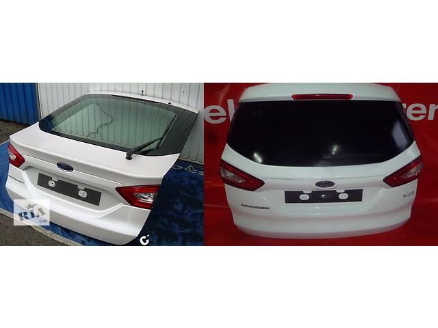продам Б/у крышка багажника для легкового авто Ford Mondeo mk5 бу в Львове