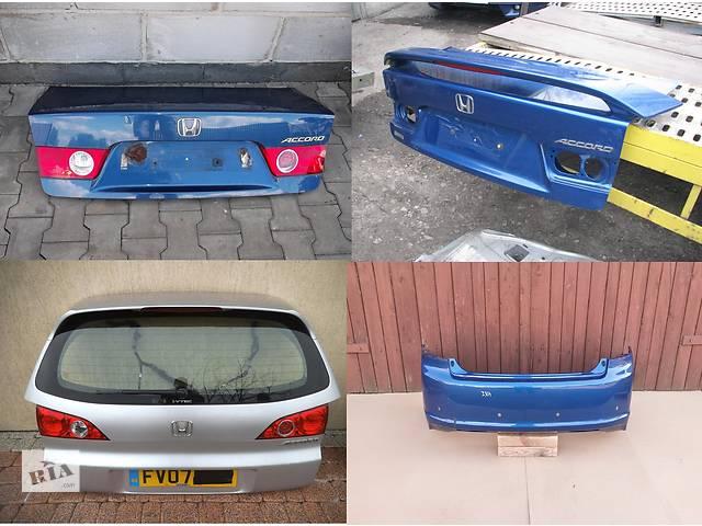 продам Б/у крышка багажника для легкового авто Honda Accord vii бу в Львове